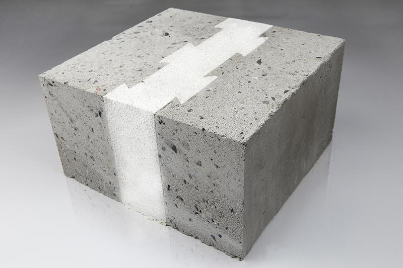 GY发泡混凝土自保温复合砌块